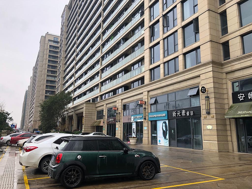 中国浙江省台州,高層マンション,高層ビル