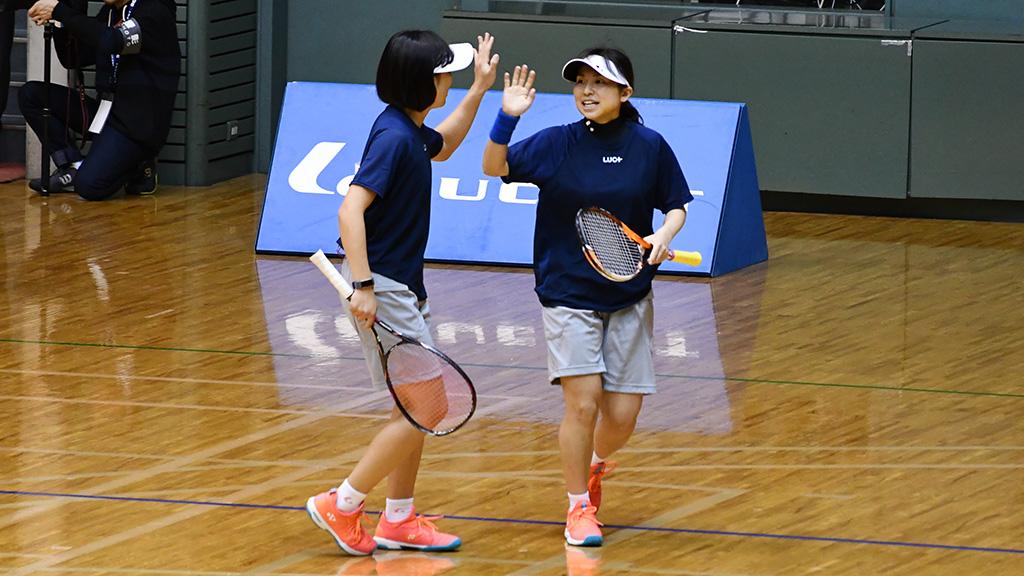 令和元年度(2020)ルーセントカップ 東京インドア全日本ソフトテニス大会,徳川黒木,ヨネックス