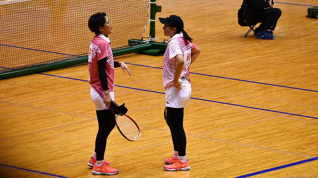 令和元年度(2020)ルーセントカップ 東京インドア全日本ソフトテニス大会,林田島津,東京女子体育大学