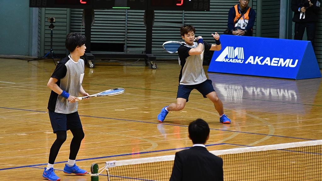 令和元年度(2020)ルーセントカップ 東京インドア全日本ソフトテニス大会,船水上松,ヨネックス,早稲田大学