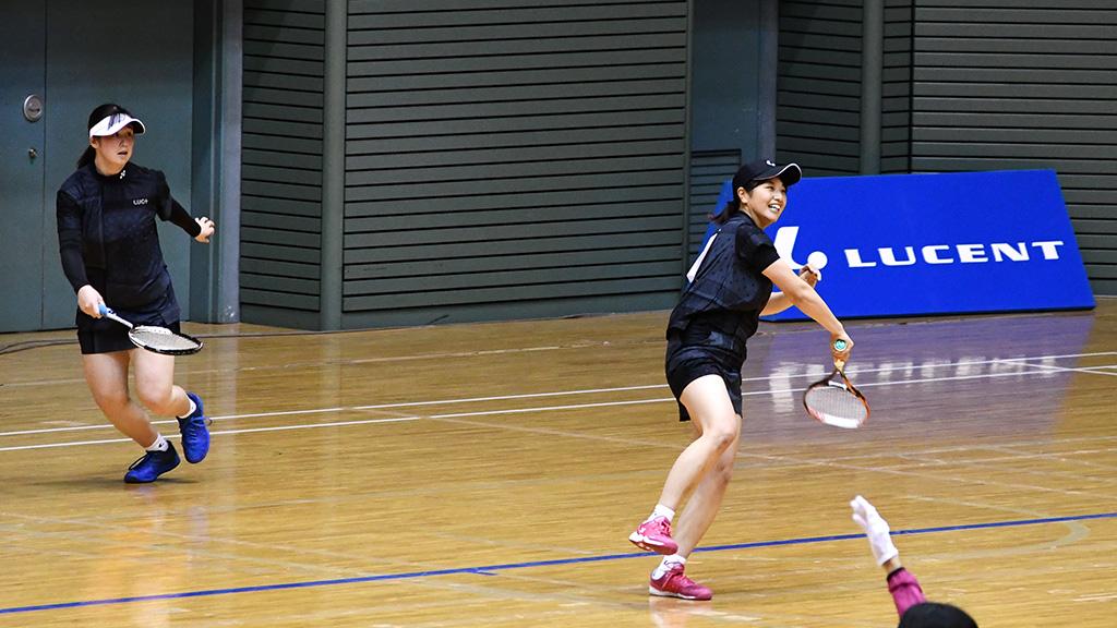 令和元年度(2020)ルーセントカップ 東京インドア全日本ソフトテニス大会,小林吉田,東京女子体育大学