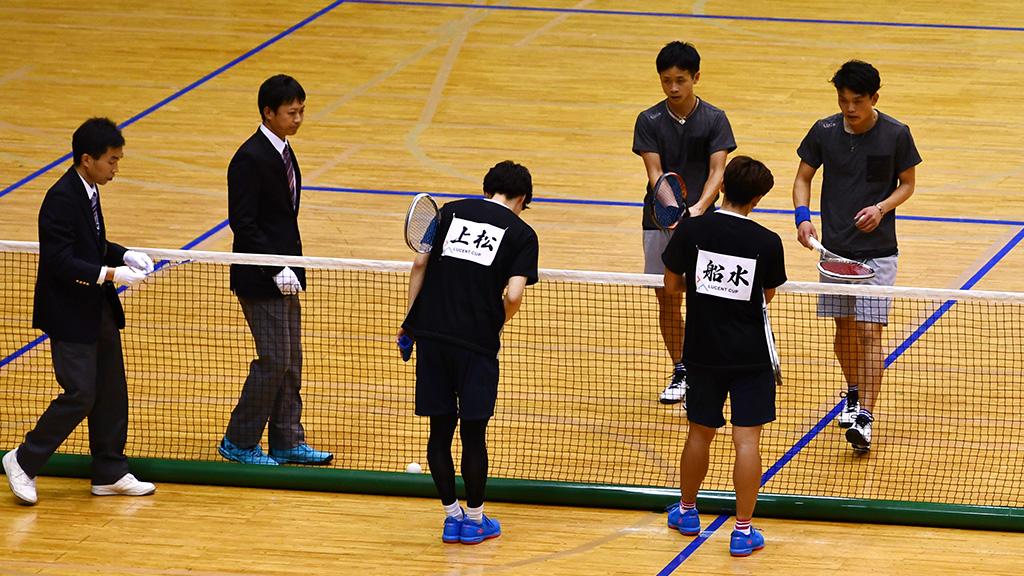 令和元年度(2020)ルーセントカップ 東京インドア全日本ソフトテニス大会,丸中林,船水上松