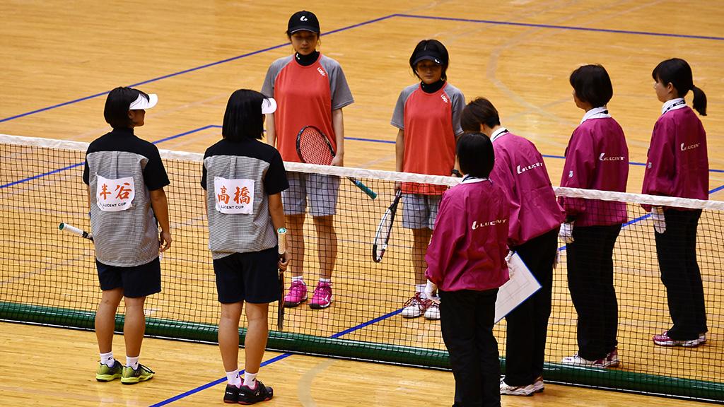令和元年度(2020)ルーセントカップ 東京インドア全日本ソフトテニス大会,女子決勝