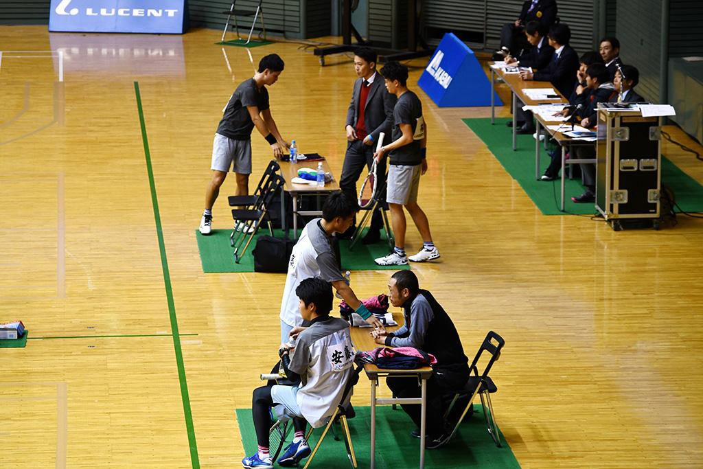 令和元年度(2020)ルーセントカップ 東京インドア全日本ソフトテニス大会,男子決勝