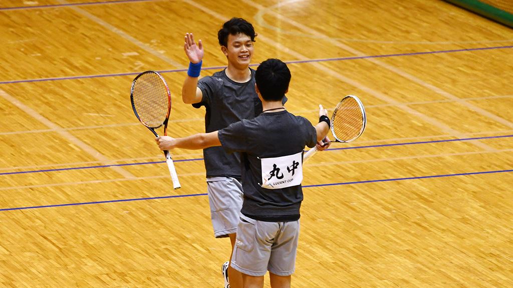 令和元年度(2020)ルーセントカップ 東京インドア全日本ソフトテニス大会,丸中林,NTT西日本