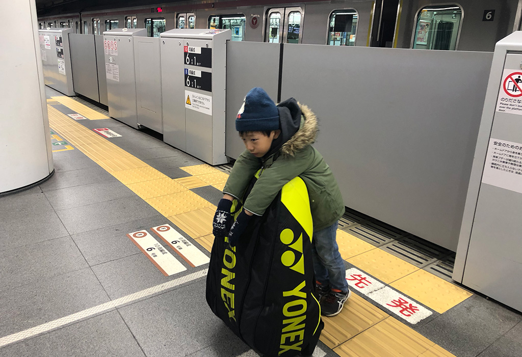 東急東横線渋谷駅ホーム