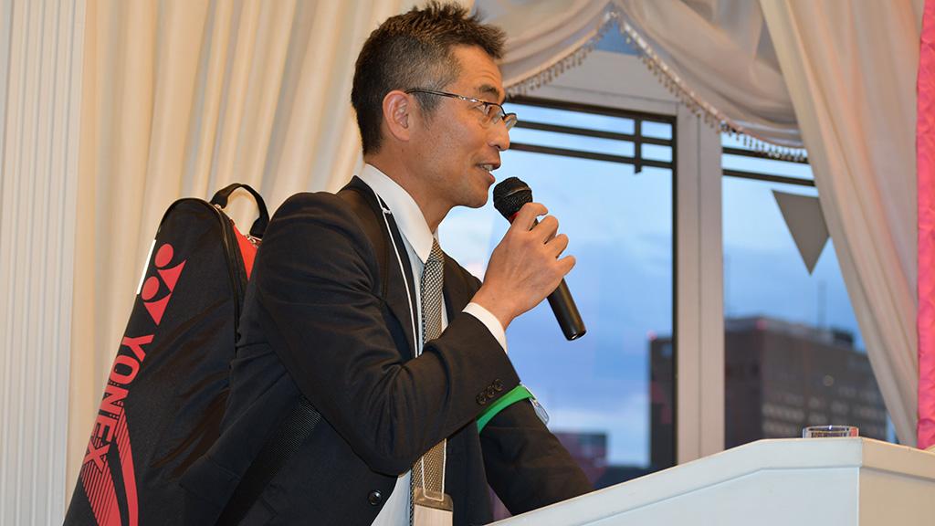 日本大学法学部ソフトテニスクラブ,日法軟庭50周年,三橋浩司