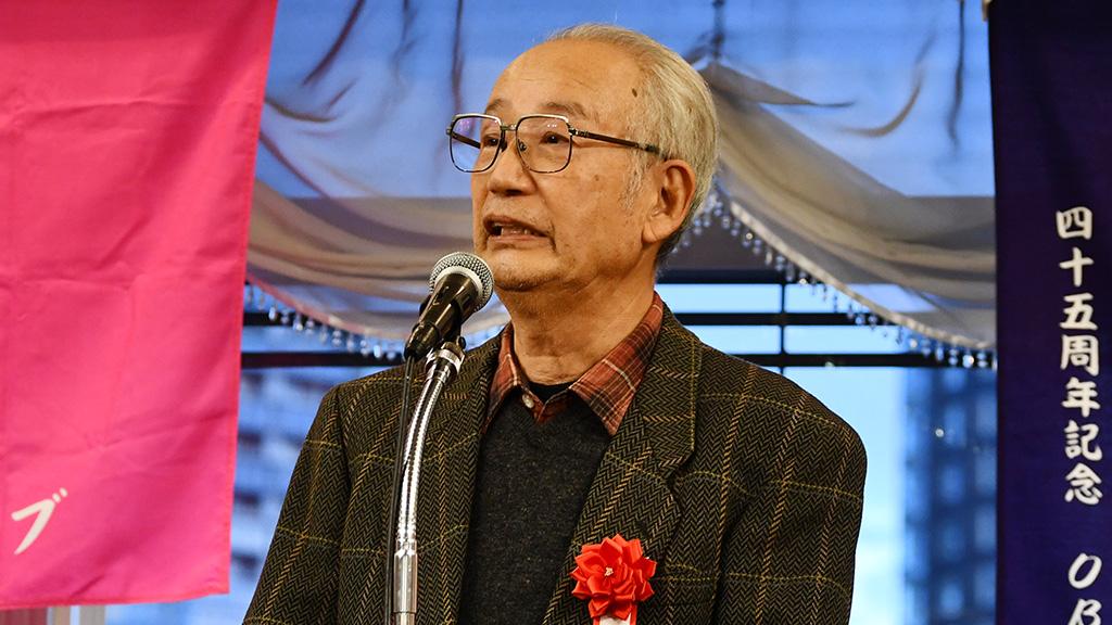 日本大学法学部ソフトテニスクラブ,日法軟庭50周年,西村克彦