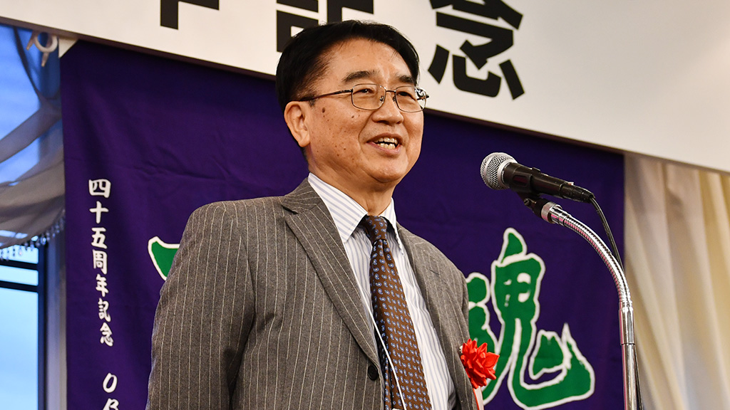 日本大学法学部ソフトテニスクラブ,日法軟庭50周年,野村栄樹