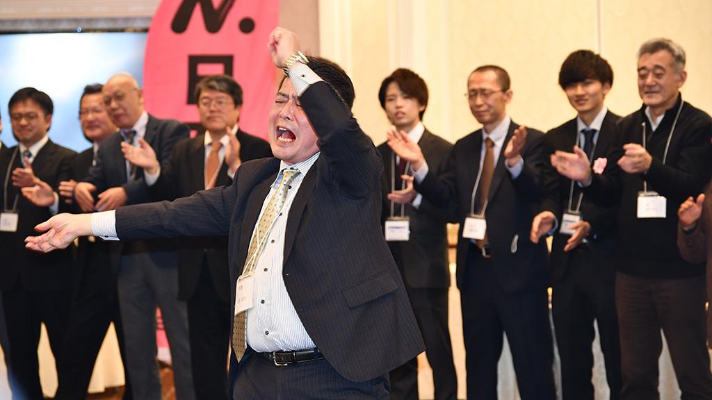 日本大学法学部ソフトテニスクラブ,日法軟庭50周年,日大節