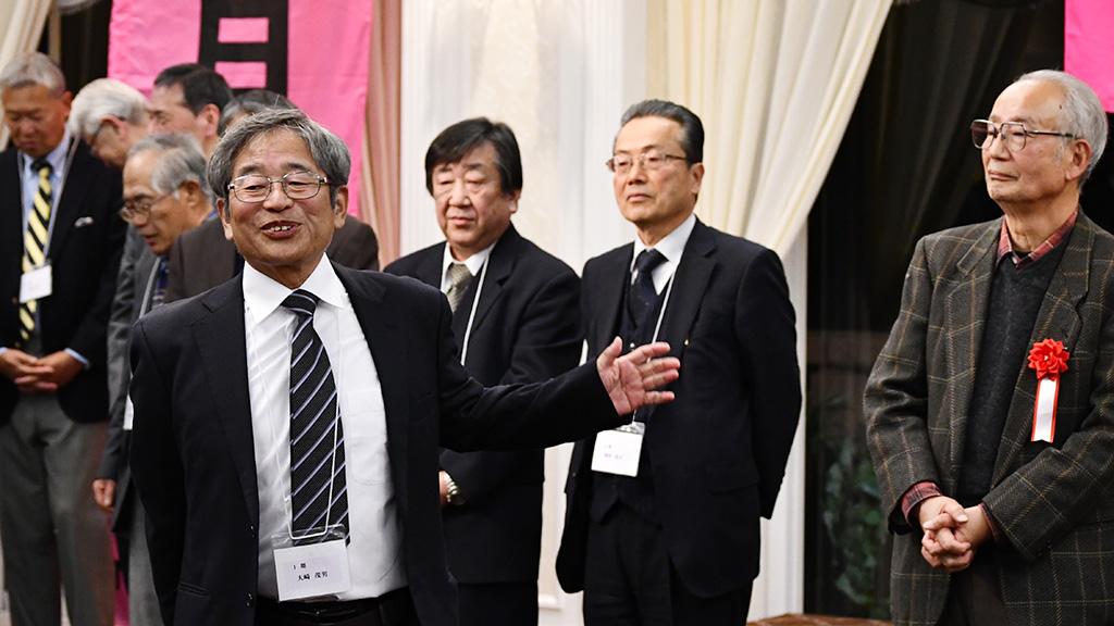 日本大学法学部ソフトテニスクラブ,日法軟庭50周年,大﨑茂男