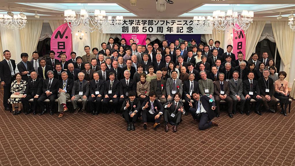 日本大学法学部ソフトテニスクラブ,日法軟庭50周年,荒川裕二郎