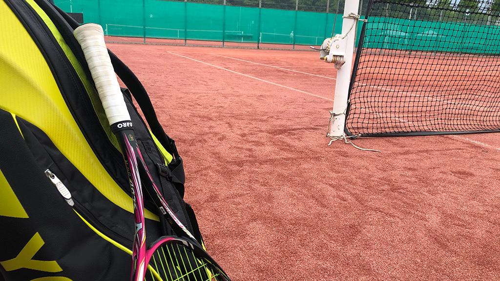 アフターコロナテニス,ソフトテニス練習