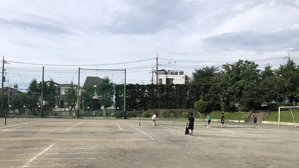 部活動再開,ソフトテニス部