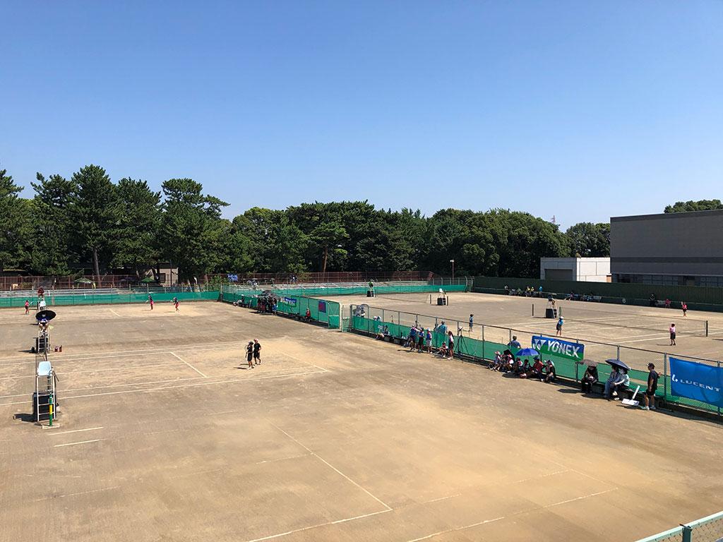平塚市立軟式庭球場,田村テニスコート
