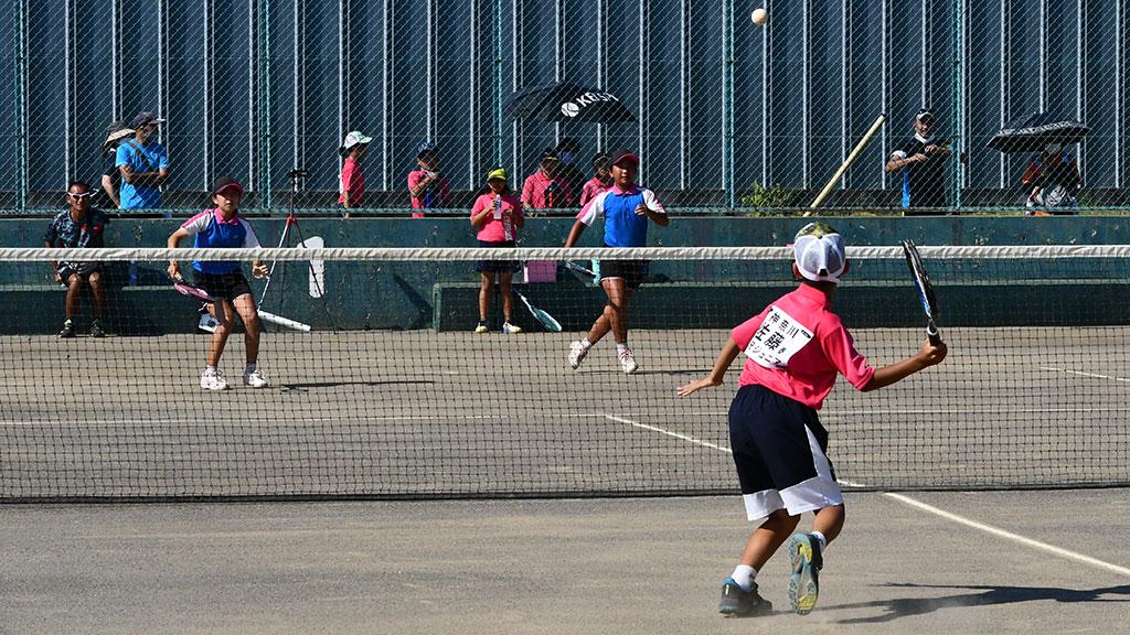 WAKAプロジェクト小学生ソフトテニス大会,川崎ジュニア,藤沢ジュニア