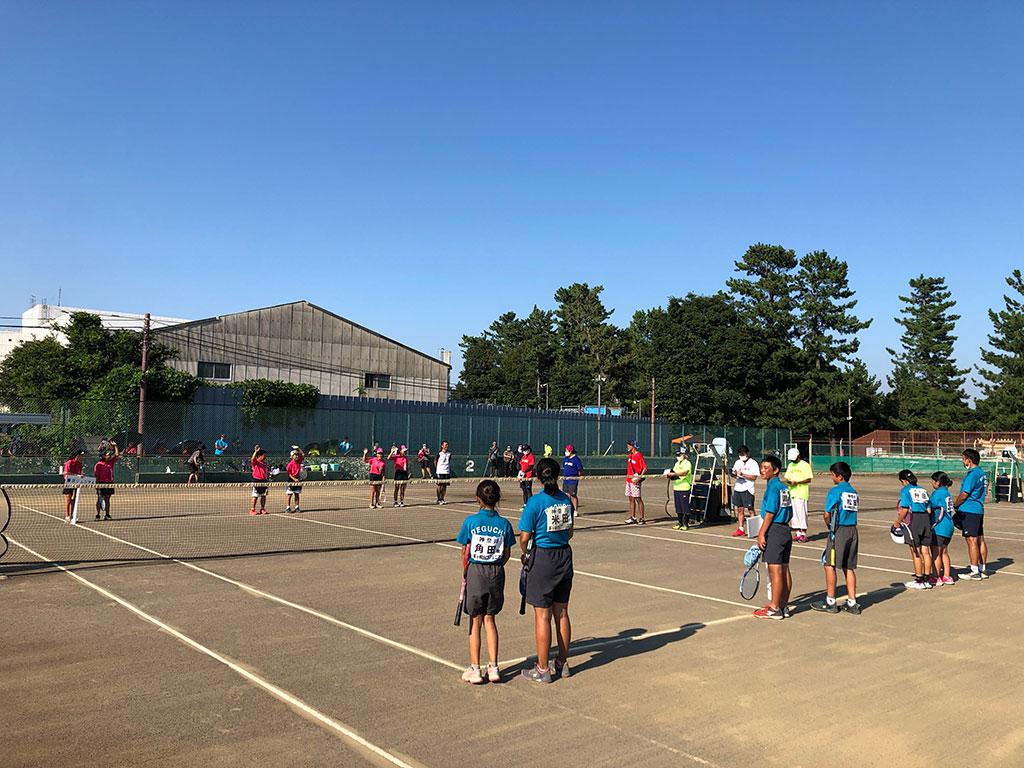 WAKAプロジェクト小学生ソフトテニス大会,藤沢ジュニアソフトテニスクラブ,茅ヶ崎出口ジュニアソフトテニスクラブ