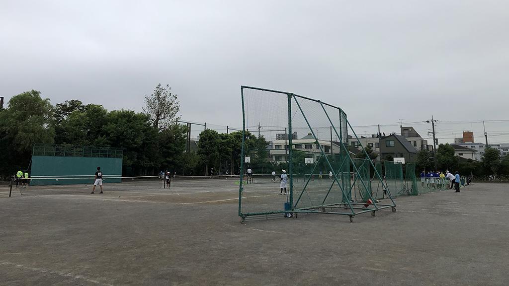 大田区中学校ソフトテニス大会,中学新人戦,出雲中学
