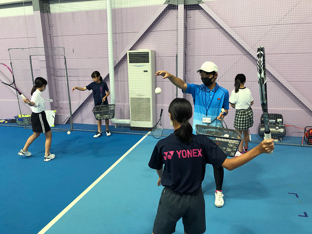 ジップテニスアリーナ大宮,ソフトテニススクール,ソフトテニスレッスン