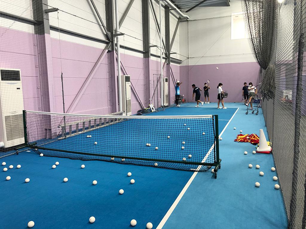 ジップテニスアリーナ大宮,ソフトテニススクール,インドアミニコート