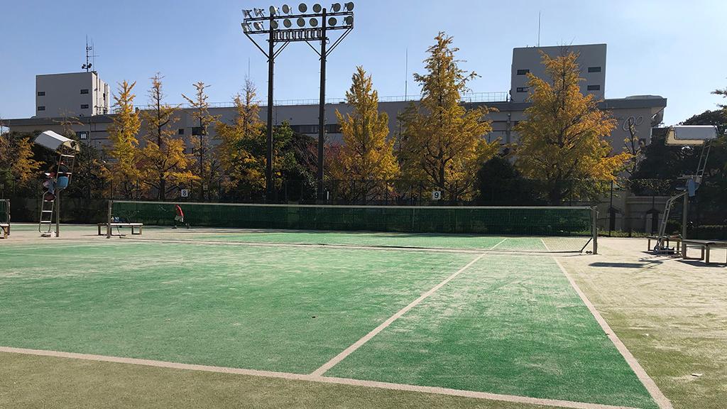 川崎市秋季市民ソフトテニス大会,富士見公園テニスコート