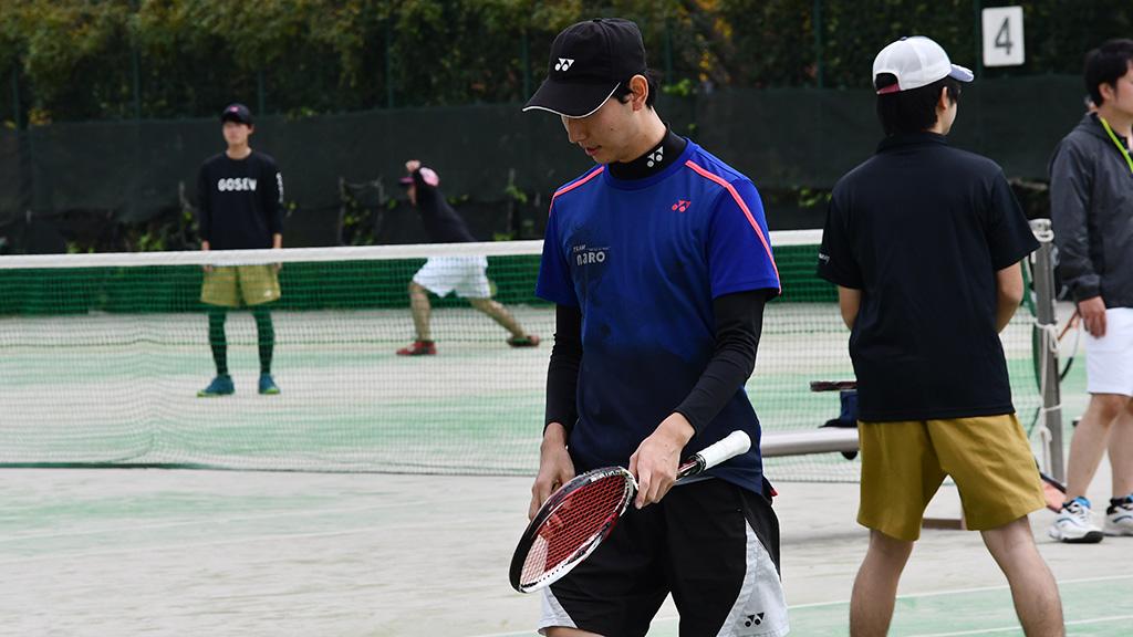 川崎市秋季市民ソフトテニス大会,チームナロ,岸本君