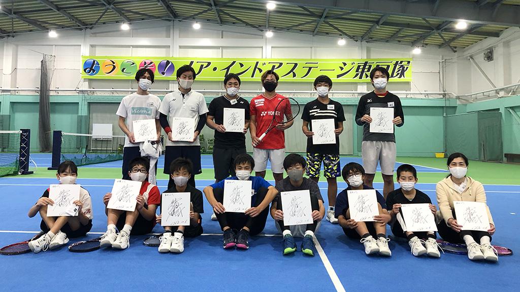 テニススクール・ノア,船水颯人プロイベント