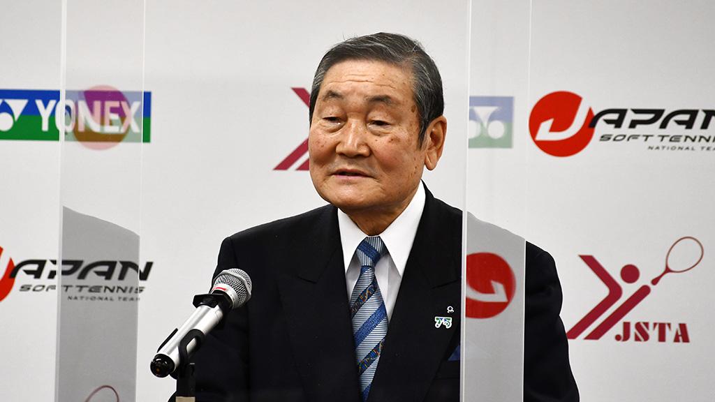日本ソフトテニス連盟,安道光二会長