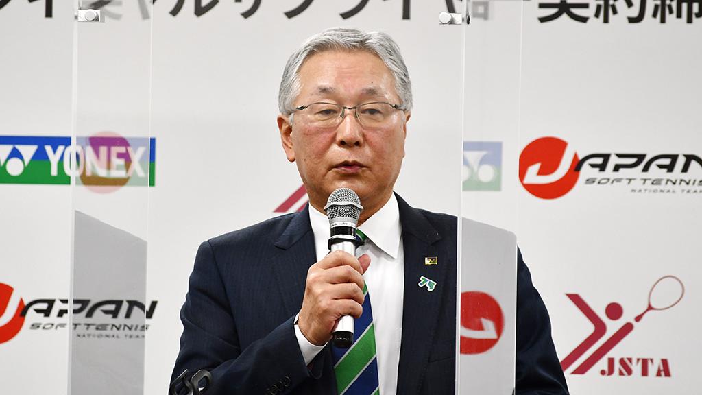 ヨネックス株式会社,林田草樹社長