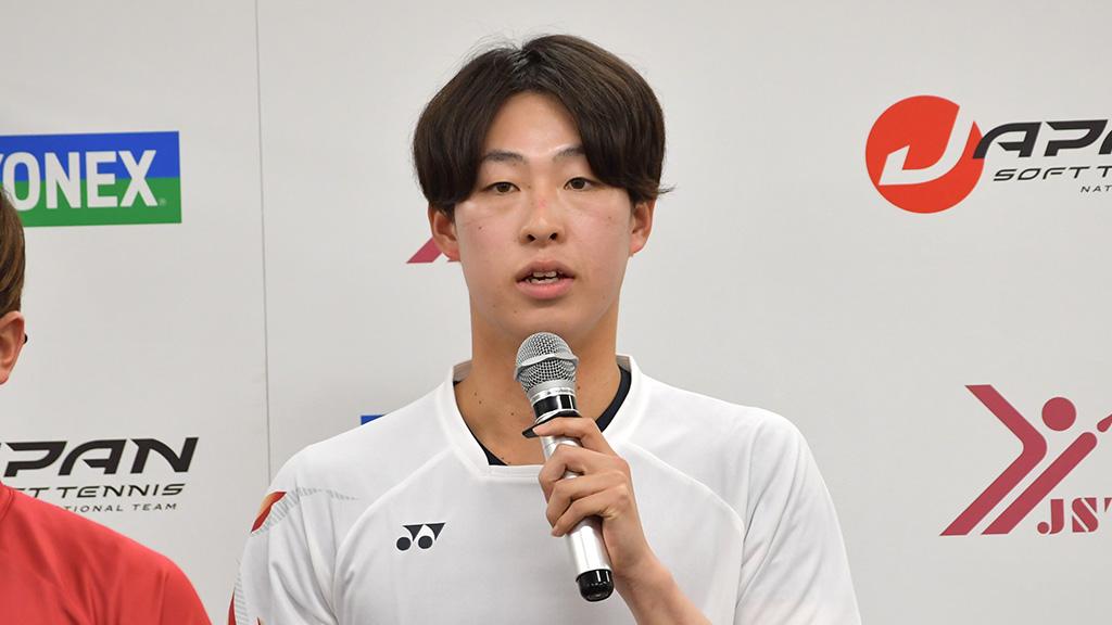 ソフトテニス日本代表,上松俊貴