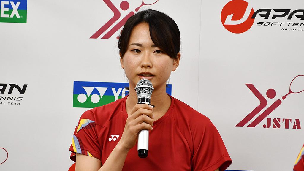 ソフトテニス日本代表,尾上胡桃