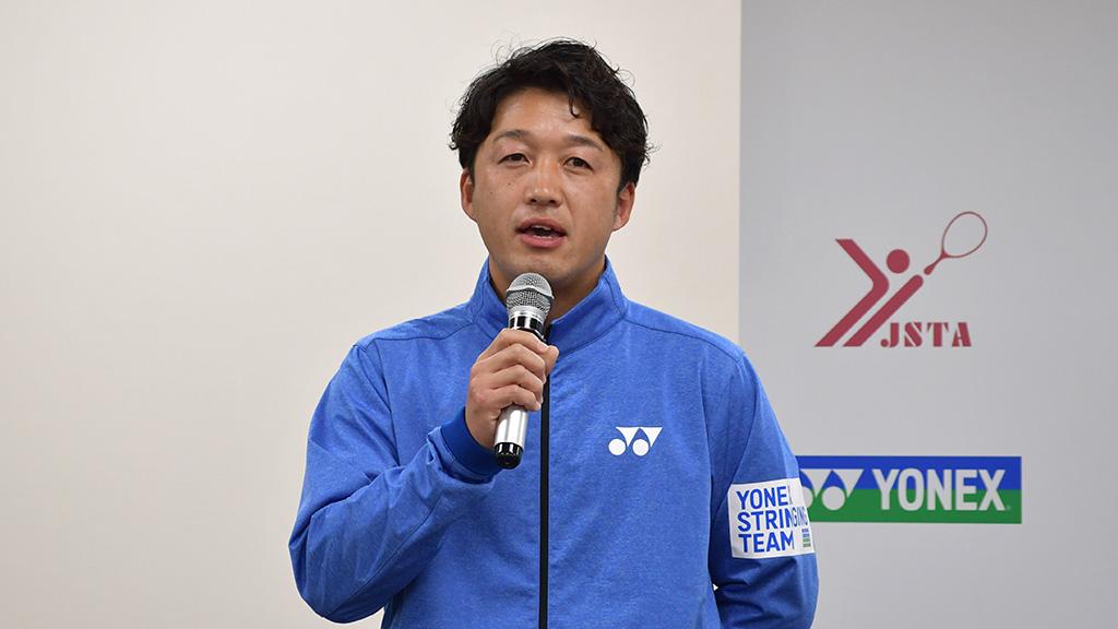 ヨネックスストリンギングチーム,川端秀信
