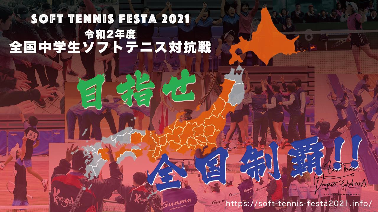 Soft Tennis Festa 2021,全国中学生ソフトテニス対抗戦,出場チームMAP
