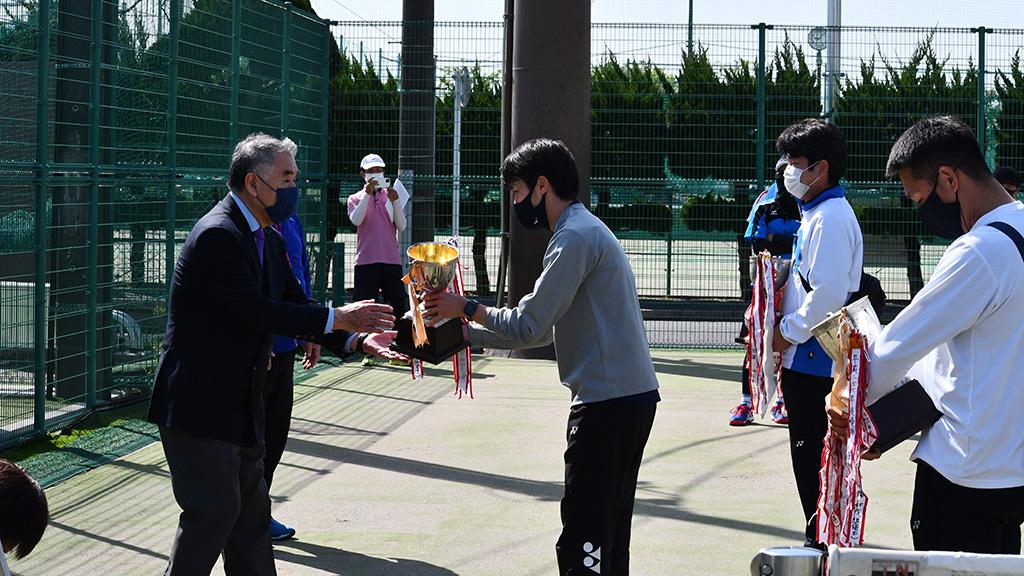 2021関東オープンソフトテニス大会,谷河内テニスコート,優勝杯返還