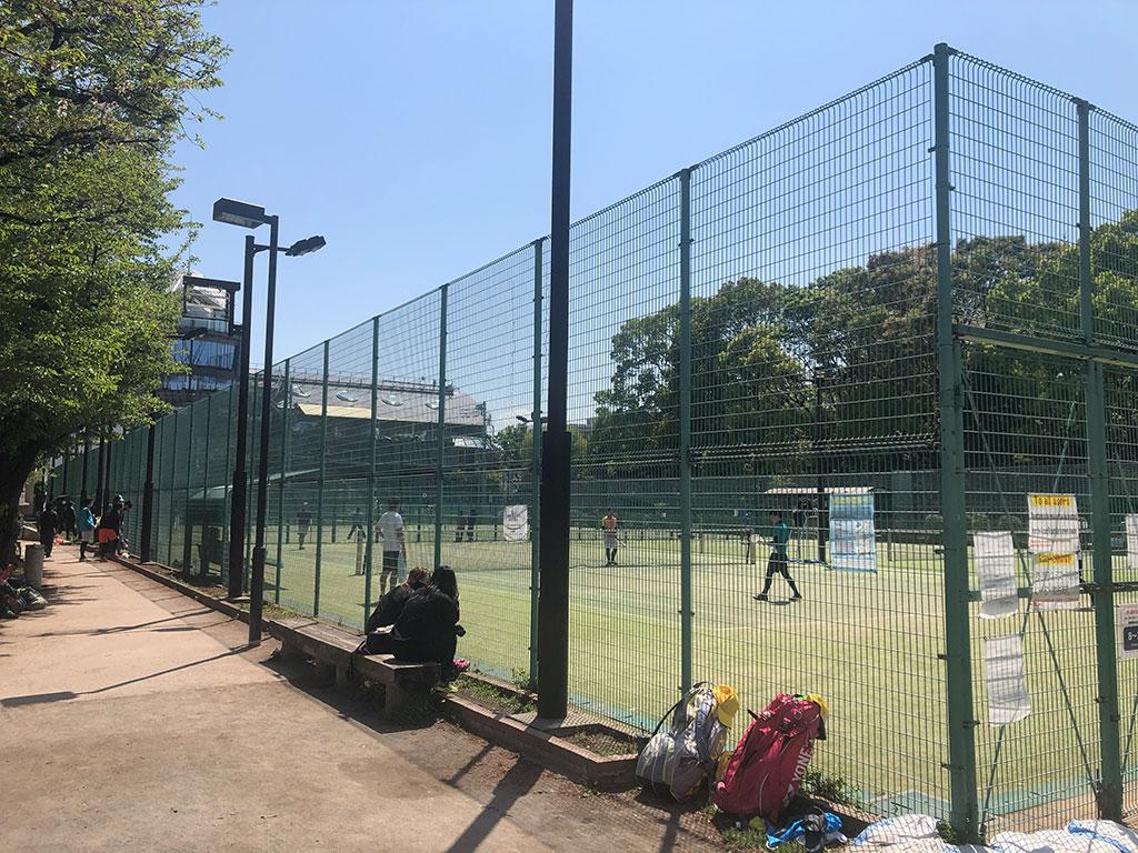 港区春季ソフトテニス大会,麻布テニスコート,港区立麻布運動場