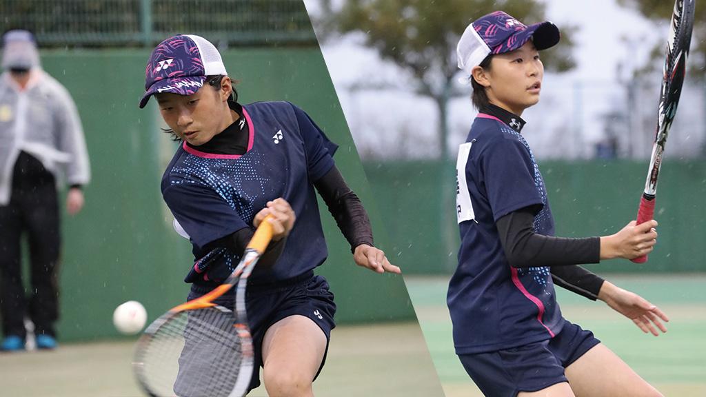全国中学生ソフトテニス対抗戦,山梨県ソフトテニス代表,天野莉子・仙澤叶夢