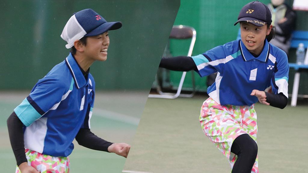 全国中学生ソフトテニス対抗戦,愛知県ソフトテニス代表,林美桜・薄優衣