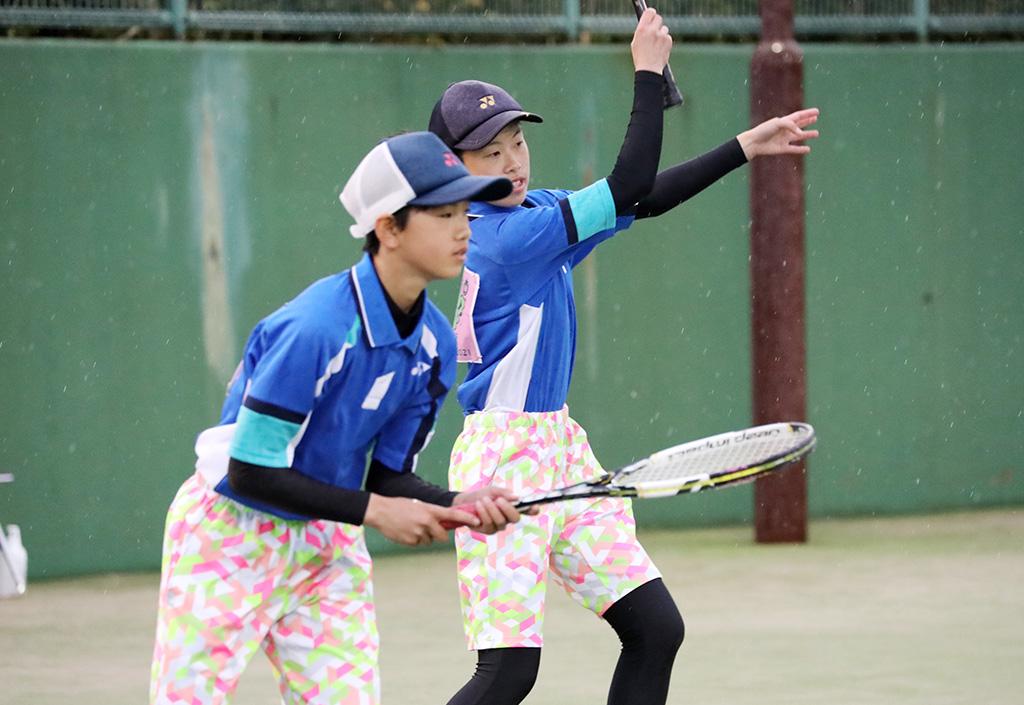 ソフトテニスフェスタ2021,愛知県ソフトテニス代表,林・薄ペア