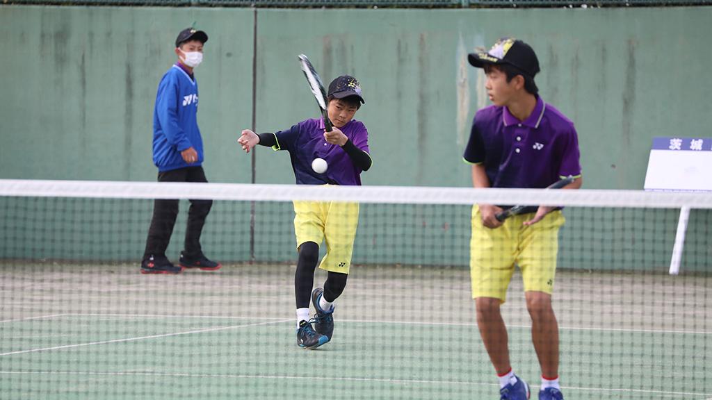Soft Tennis Festa 2021,全国中学生ソフトテニス対抗戦,茨城県代表
