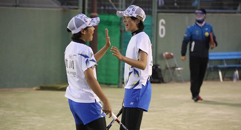 Soft Tennis Festa 2021,兵庫県代表,前川中谷