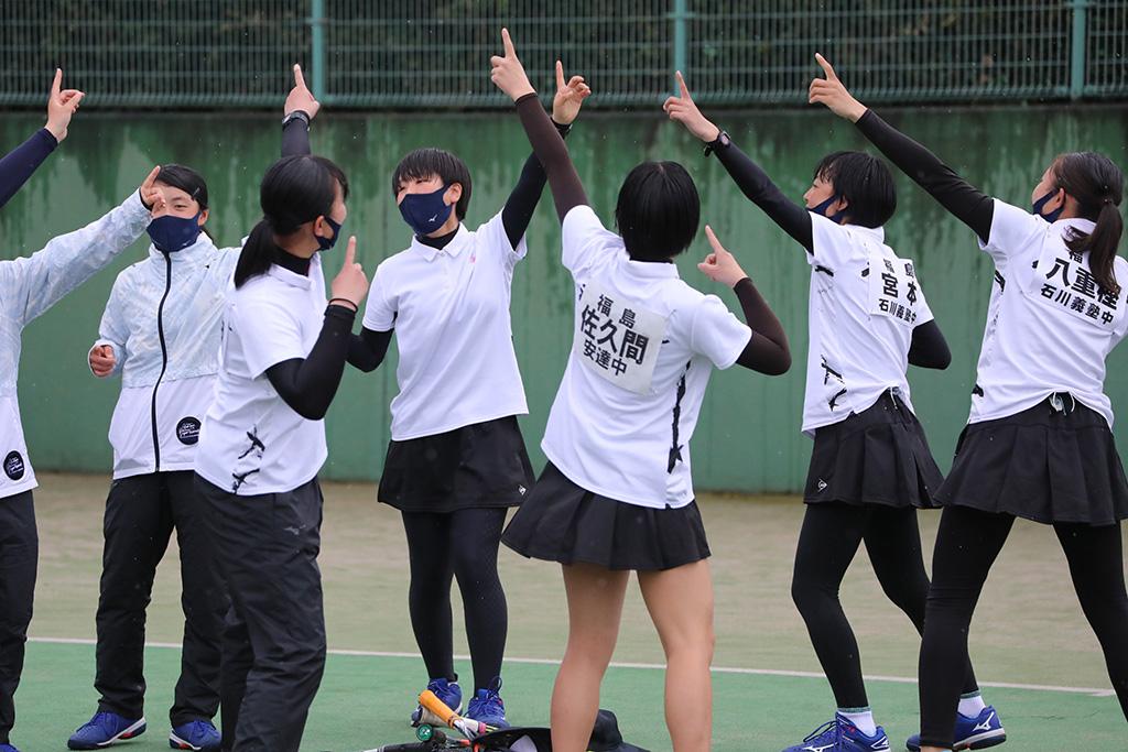 ソフトテニスフェスタ2021,女子3位,福島県代表