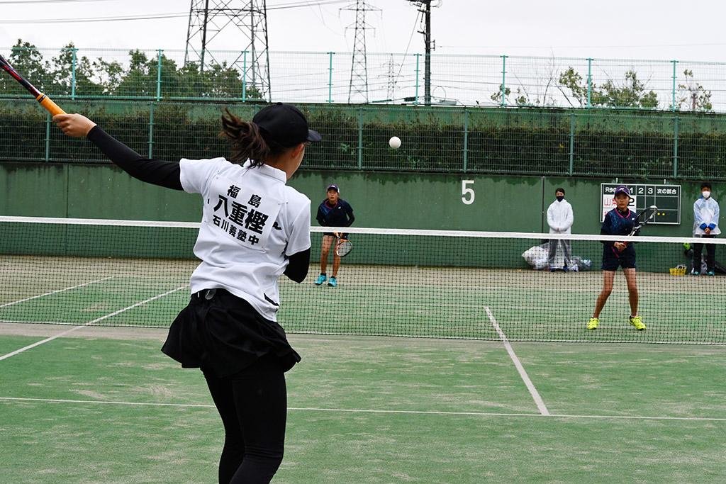 都道府県全中ソフトテニス代替,山梨県,福島県