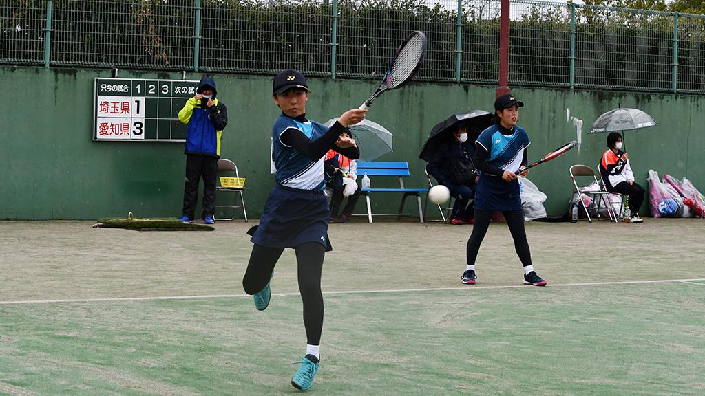 ソフトテニスフェスタ2021,女子3位,埼玉県代表