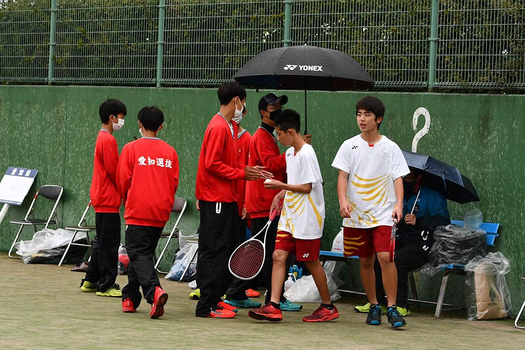 ソフトテニスフェスタ2021,男子準優勝,愛知県代表