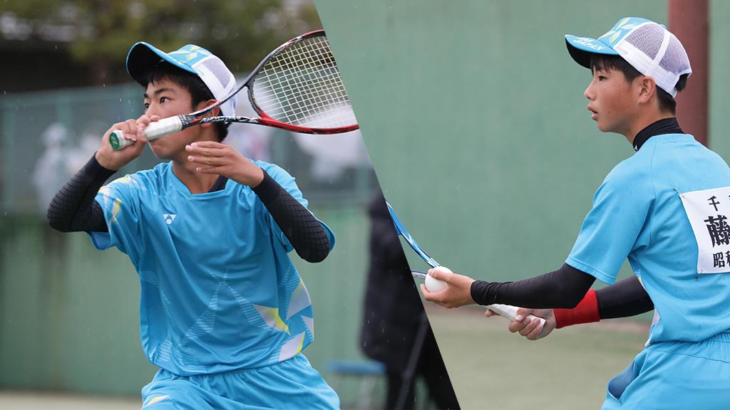 全国中学生ソフトテニス対抗戦,千葉県ソフトテニス代表,藤木晴叶 ・阿部倖大