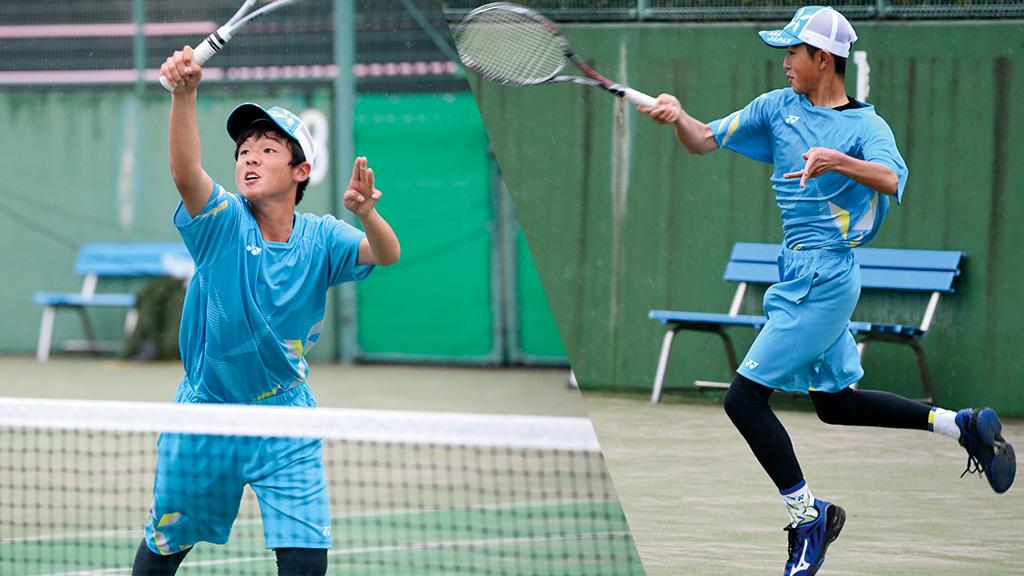 全国中学生ソフトテニス対抗戦,千葉県ソフトテニス代表,塚本大翔・諏訪部陽大