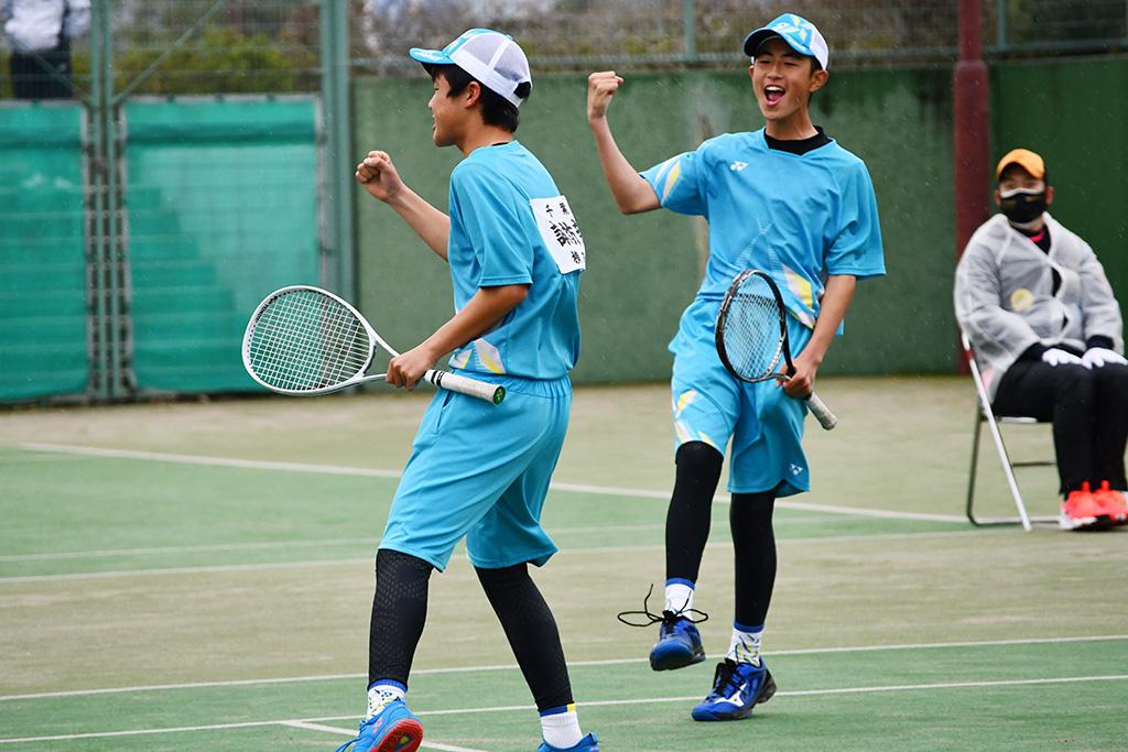 ソフトテニスフェスタ2021,千葉県ソフトテニス代表,塚本・諏訪部ペア