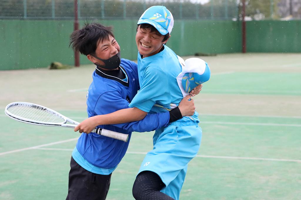 ソフトテニスフェスタ2021,男子優勝,千葉県代表