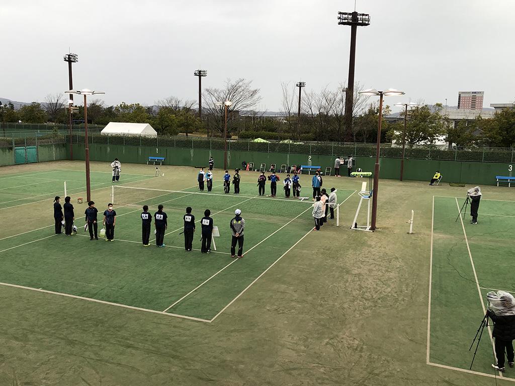 全中代替,Soft Tennis Festa 2021,女子決勝戦
