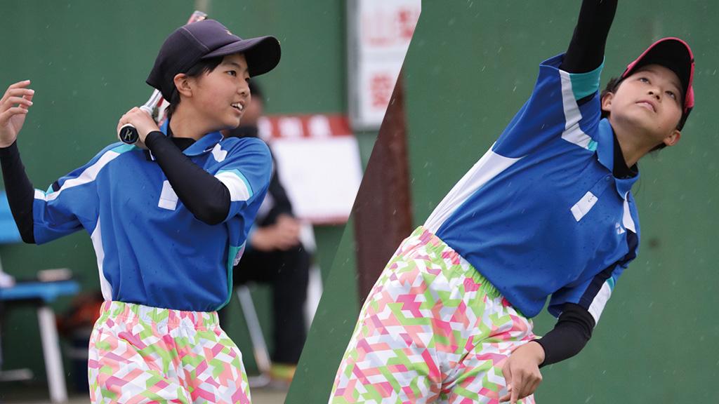 全国中学生ソフトテニス対抗戦,愛知県ソフトテニス代表,篠原菜摘・石川莉子
